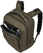 Рюкзак с отделением для ноутбука Thule Crossover 2 Backpack 20л Forest Night (хаки), фото 8