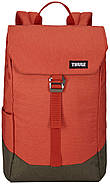 Рюкзак с отделением для ноутбука Thule Lithos 16л Backpack Rooibos/Forest Night (красный/хаки), фото 2