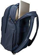 Рюкзак с отделением для ноутбука Thule Crossover 2 Backpack 30л Dress Blue (темно-синий), фото 7