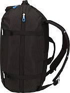 Рюкзак-спортивна сумка Thule Crossover 40L Black (чорний), фото 3