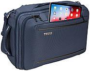 Рюкзак-наплечная сумка Thule Crossover 2 Convertible Carry On 41L Dress Blue (темно-синий), фото 9
