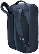 Рюкзак-наплечная сумка Thule Crossover 2 Convertible Carry On 41L Dress Blue (темно-синий), фото 10