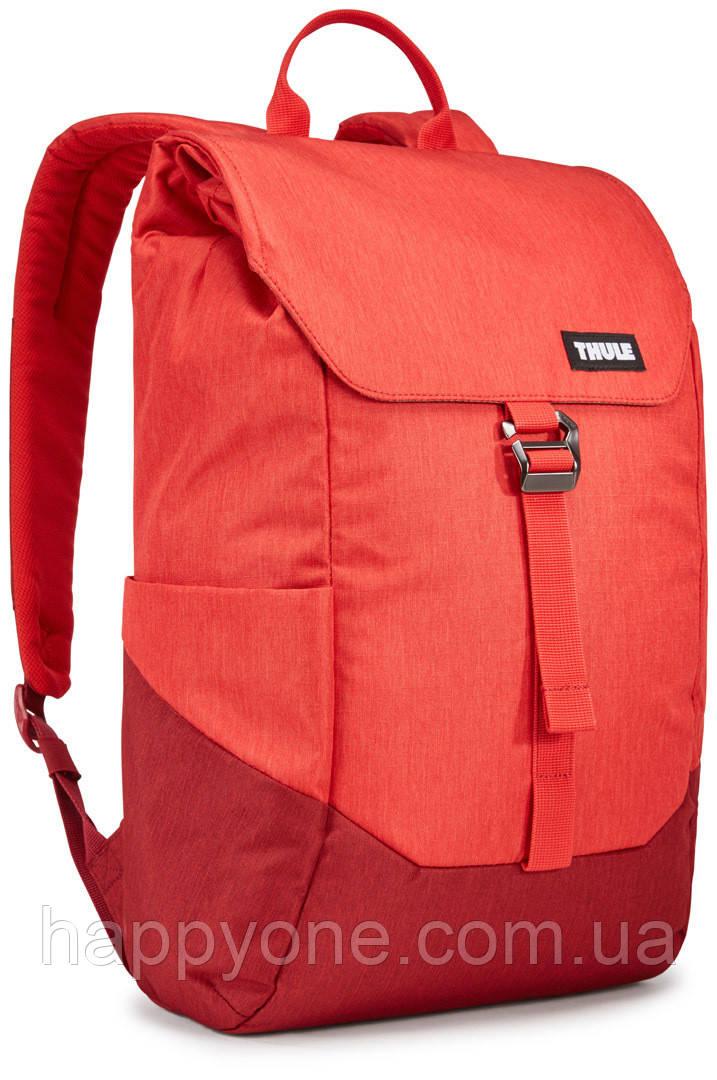 Рюкзак с отделением для ноутбука Thule Lithos 16л Backpack Lava/Red Feather (красный)