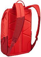 Рюкзак с отделением для ноутбука Thule Lithos 16л Backpack Lava/Red Feather (красный), фото 3