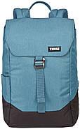 Рюкзак с отделением для ноутбука Thule Lithos 16л Backpack Blue/Black (голубой-черный), фото 2