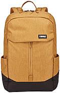 Рюкзак с отделением для ноутбука Thule Lithos 20л Backpack Wood Trush/Black (желтый/черный), фото 2