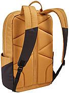 Рюкзак с отделением для ноутбука Thule Lithos 20л Backpack Wood Trush/Black (желтый/черный), фото 3