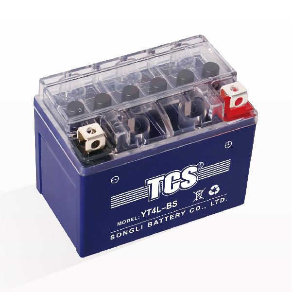 Аккумулятор 4Аh YT4L-BS гелевый (L113*W70*H85mm), 2020, от 10шт -3%, синий