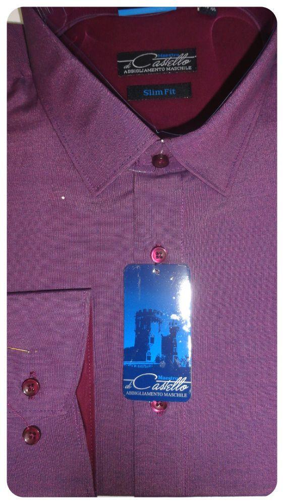 Рубашка мужская Castello приталенная.