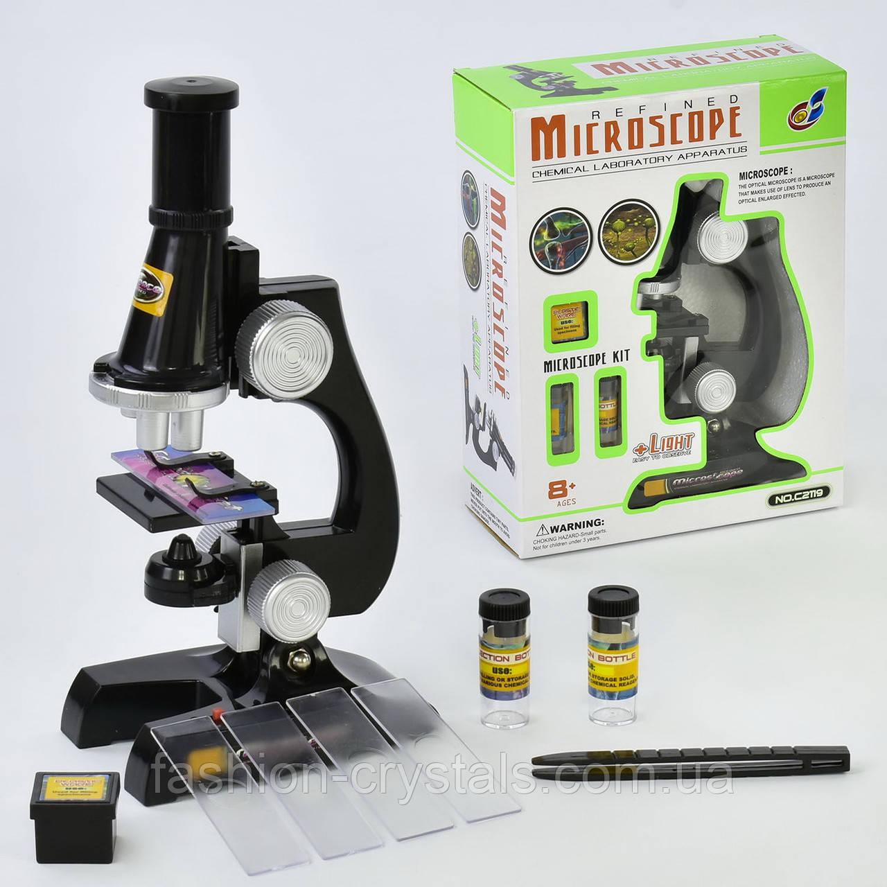 Игровой набор микроскоп с аксессуарами 2119