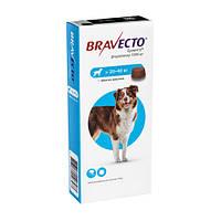 Бравекто №1 от 20 до 40 кг таблетки от блох и клещей для собак MSD AH (ОРИГИНАЛ)