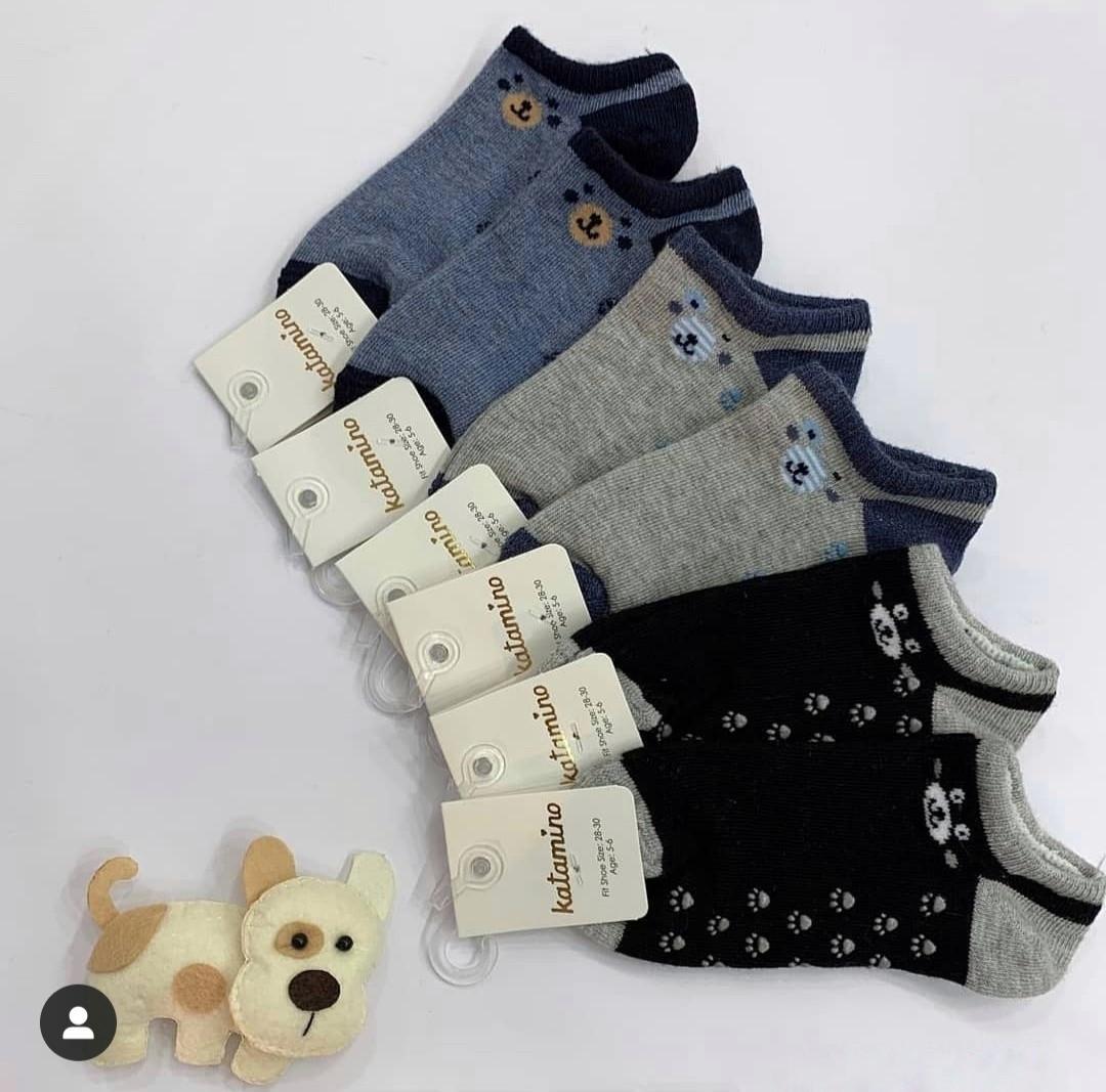 Хлопковые носки для мальчиков 5-6 года ТМ Katamino 54896127751561