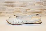 Босоножки женские бежевые Б670, фото 3
