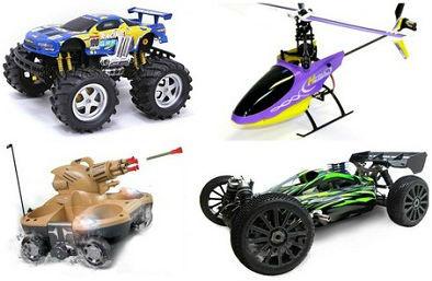 Радиоуправляемые и инерционные игрушки, транспорт