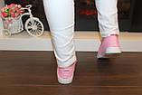 Кеды женские ярко-розовые Т1066, фото 7