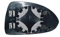 Вкладыш зеркала правый с обогревом выпуклый Corsa D 2007-11