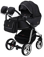 Дитяча коляска 2в1 Adamex Barcelona Polar (Chrome) BR617