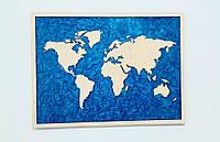 """Картина """"Карта Мира"""""""