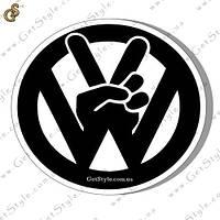 """Наклейка """"Volkswagen Peace"""""""