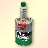Шпатлёвка жидкая распыляемая NOVOL Spray 1,2 кг
