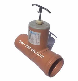 Засувка каналізаційна пвх ду110