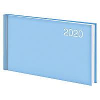 Еженедельник Brunnen Miradur Trend 2020 карманный датированный голубой (73-755 64 33)