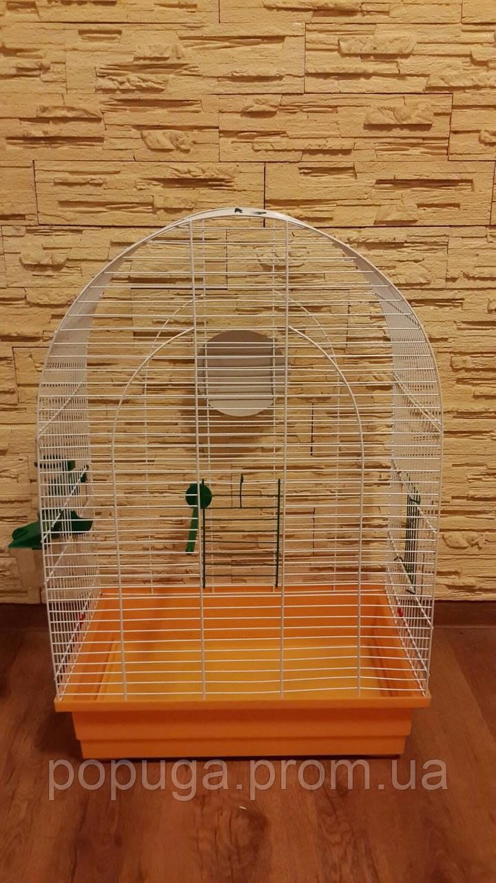Клетка для средних попугаев Люси, эмаль
