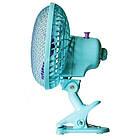 Настольный вентилятор с прищепкой, Rainberg RB-9304, 35Вт., фото 2
