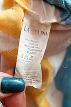 Дуже красива стильна туніка прикрашена аплікацією з камінням рр 50-60 LaveLina Туреччина, фото 3
