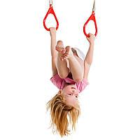 Кільця на мотузках для дитячих майданчиків, акробатичні кільця