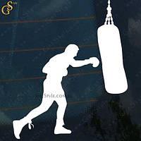"""Наклейка """"Boxing"""""""