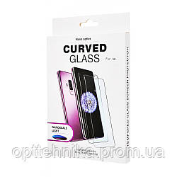 Защитное стекло Clear Full Glue + Lamp Samsung Galaxy S7 Edge
