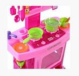 """Детская игровая кухня """"Маленької господині"""" Limo Toy 661-51, звук, свет, размером 61-42-25см, фото 2"""