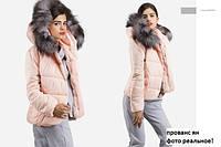 Зимние куртки больших размеров Прованс ян мех натуральный!!!!