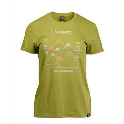 Футболка жіноча Turbat 7 SUMMITS S Green