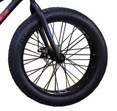 """Велосипед Crosser, колёса 24''х4,0"""", фэтбайк, горный, рама прямая 13"""", спортивный, фото 2"""