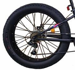 """Велосипед Crosser, колёса 24''х4,0"""", фэтбайк, горный, рама прямая 13"""", спортивный, фото 3"""