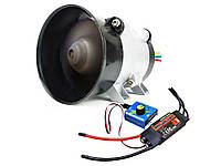 Електричний турбо-нагнітач на автомобіль Esc 12 В 30A