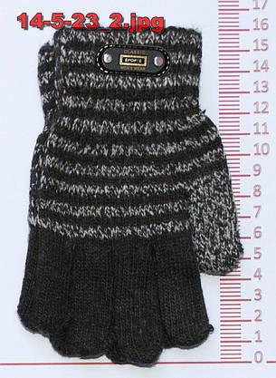 Перчатки детские для мальчика - разные цвета - 14-5-23, фото 2
