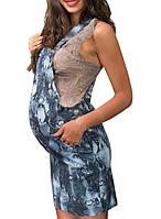 Сарафан для беременных с принтом