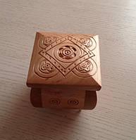 Шкатулка дерев'яна ручної роботи