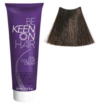 Крем краска Hellbraun + 5.00+ Интенсивынй светло-коричневый Keen Color Cream XXL 100 мл.