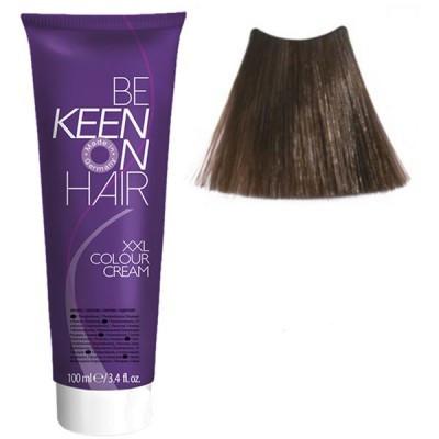 Крем краска Dunkelblond - 6.0 Темный блондин Keen Color Cream XXL 100 мл.