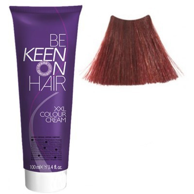 Крем краска Dunkelblond Kupfer-Rot - 6.45 Темный медно-красный блондин Keen Color Cream XXL 100 мл.