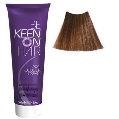 Крем краска Mittelblond Gold - 7.3 Средне-русый золотистый блондин Keen Color Cream XXL 100 мл.