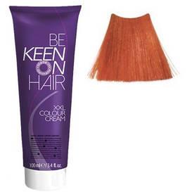 Крем фарба Mittelblond Kupfer-Intensiv 7.44 Натуральний інтенсивно-мідний блонд Keen Color Cream XXL 100 мл