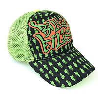 Кепка подростковая Billie Eilish Билли Айлиш Gear Bag зеленая сетка