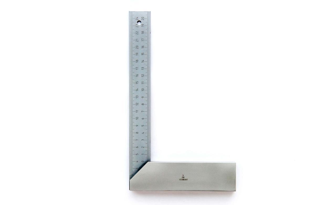 Измерительный угольник ZIIU (145 х 250 мм) Болгария Серия 48032 25