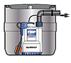 Pedrollo SAR 40 ― RXm2/20 канализационная насосная станция