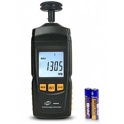 Тахометр контактный Benetech GM8906 (от 0.5 до 19.999 об./мин)